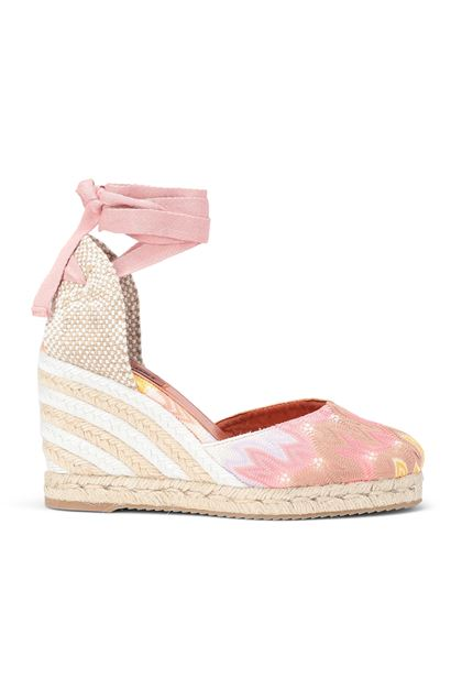 MISSONI Espadrillas Castañer x Missoni  Pink Woman - Back