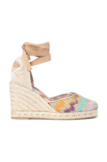 MISSONI Espadrillas Castañer x Missoni  Sand Woman - Back