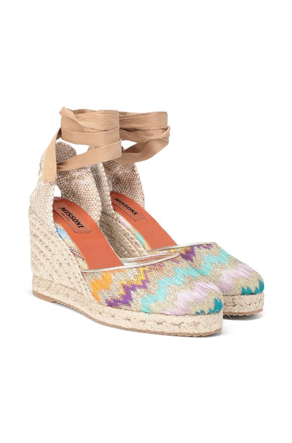 MISSONI Espadrillas Castañer x Missoni  Woman, Rear view