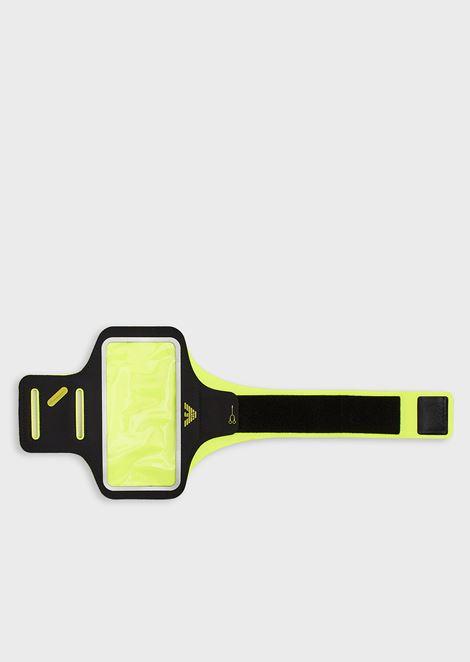 Fluorescent smartphone armband