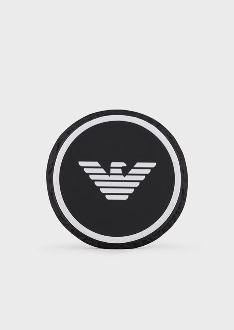 Frisbee with eagle logo