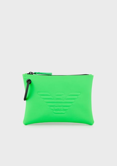 Small logoed pouch