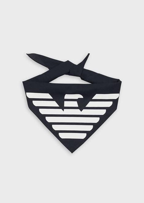 Bandana with oversized logo