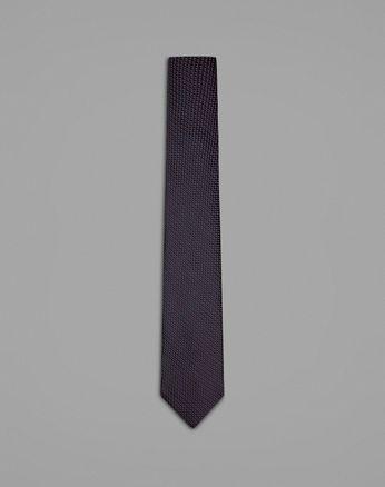 Blue Micro Pattern Tie