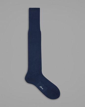 Chaussettes Hautes Bleues