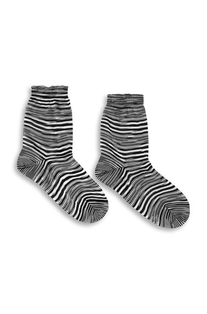 MISSONI Socks Black Woman - Back