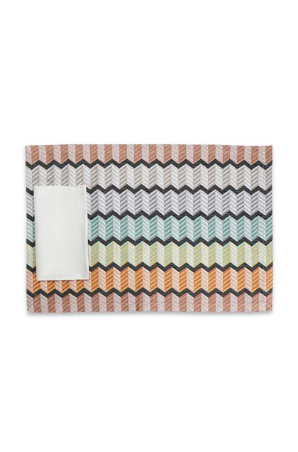 MISSONI HOME WATERFORD PLACE MAT Green E - Back
