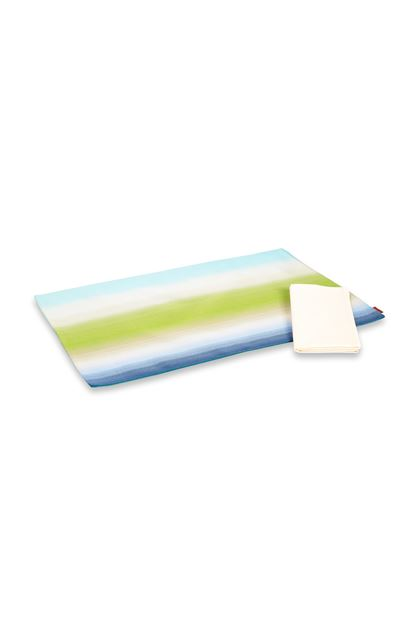 MISSONI HOME TONGA PLACE MAT Light green E - Front