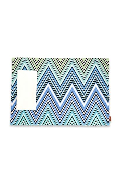 MISSONI HOME KEW OUTDOOR PLACE MAT Azure E - Back