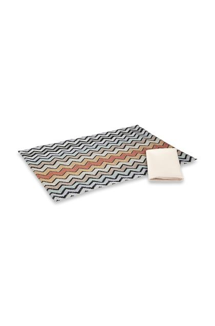 MISSONI HOME WESTMEATH PLACE MAT Brown E - Front