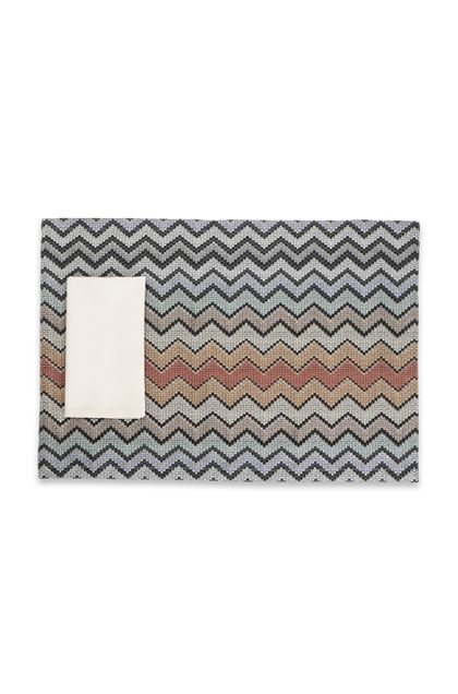 MISSONI HOME WESTMEATH PLACE MAT Brown E - Back