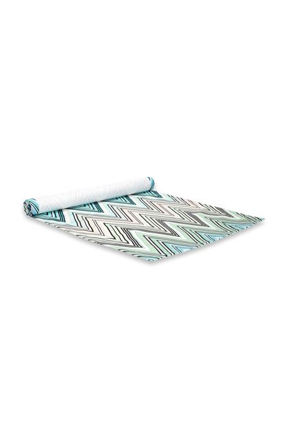 MISSONI HOME KEW OUTDOOR TABLE RUNNER Light green E - Front