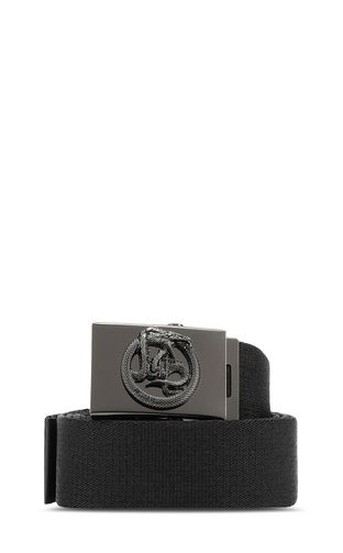 Fabric Just-Snake-logo belt