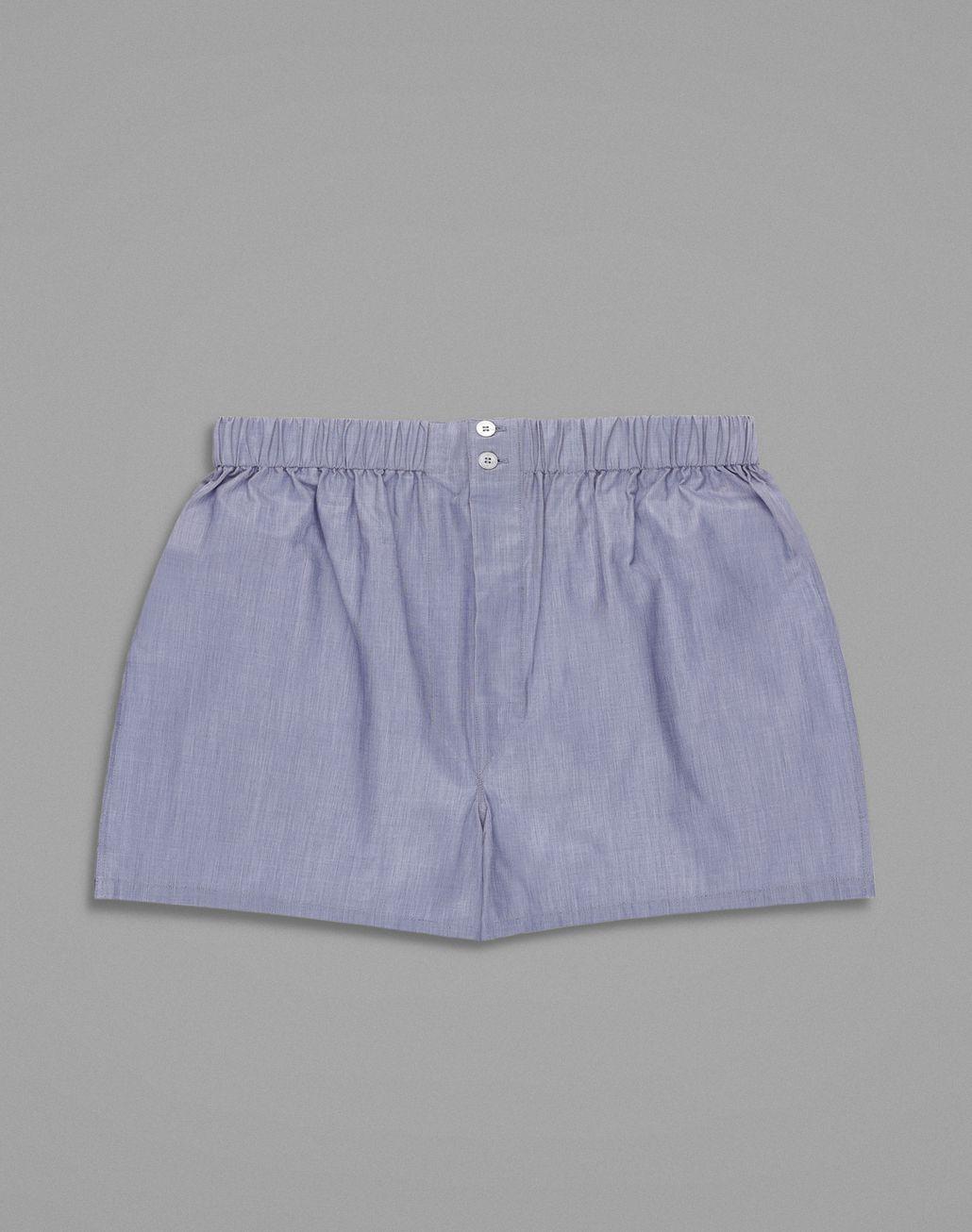 BRIONI Blue Boxers Underwear Man f
