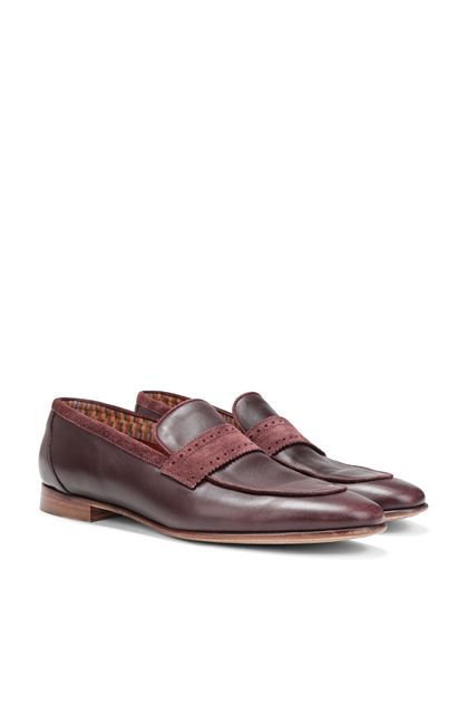 MISSONI Mocassini Bordeaux Uomo - Fronte