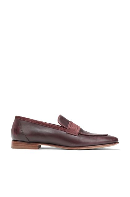 MISSONI Moccasins Maroon Man - Back