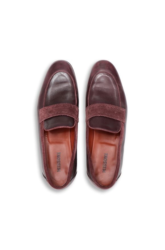MISSONI Moccasins Man, Side view