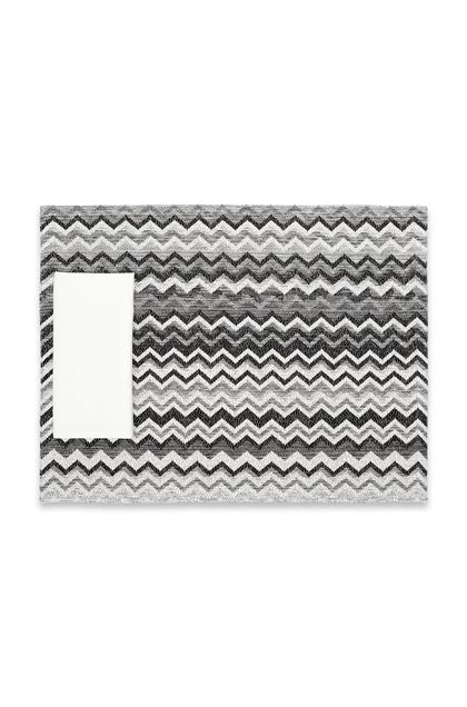MISSONI HOME WIPPTAL PLACE MAT Grey E - Back