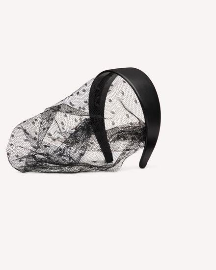 REDValentino Headband Woman TQ2J0B58HEC 0NO a
