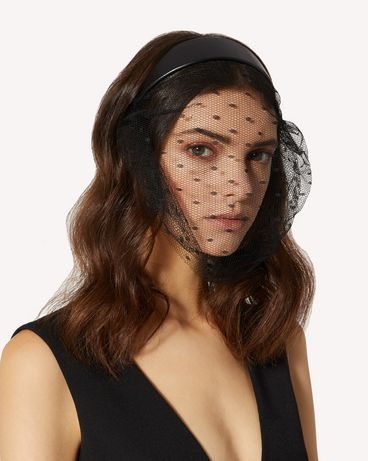REDValentino TQ2J0B58HEC 0NO Headband Woman e