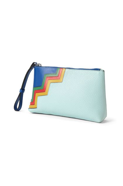 M MISSONI Cosmetic bag Turquoise Woman - Front