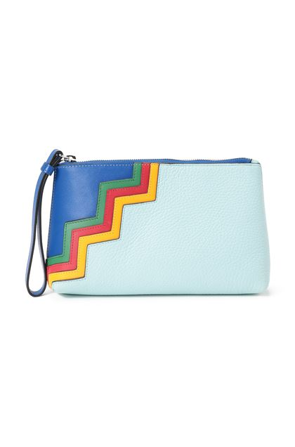 M MISSONI Cosmetics bag Turquoise Woman - Back