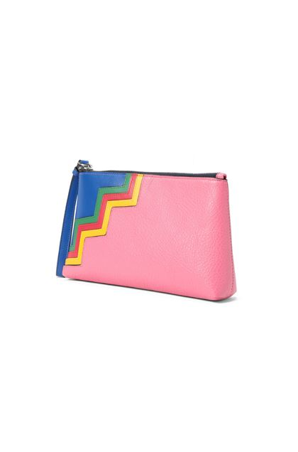 M MISSONI Cosmetic bag Fuchsia Woman - Front