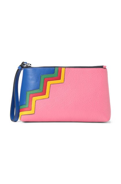 M MISSONI Cosmetic bag Fuchsia Woman - Back