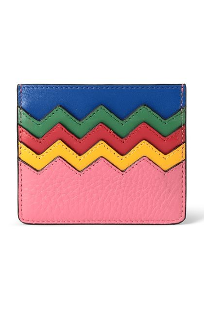 M MISSONI Cosmetics bag Fuchsia Woman - Back