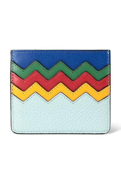 M MISSONI Cosmetic bag Turquoise Woman - Back