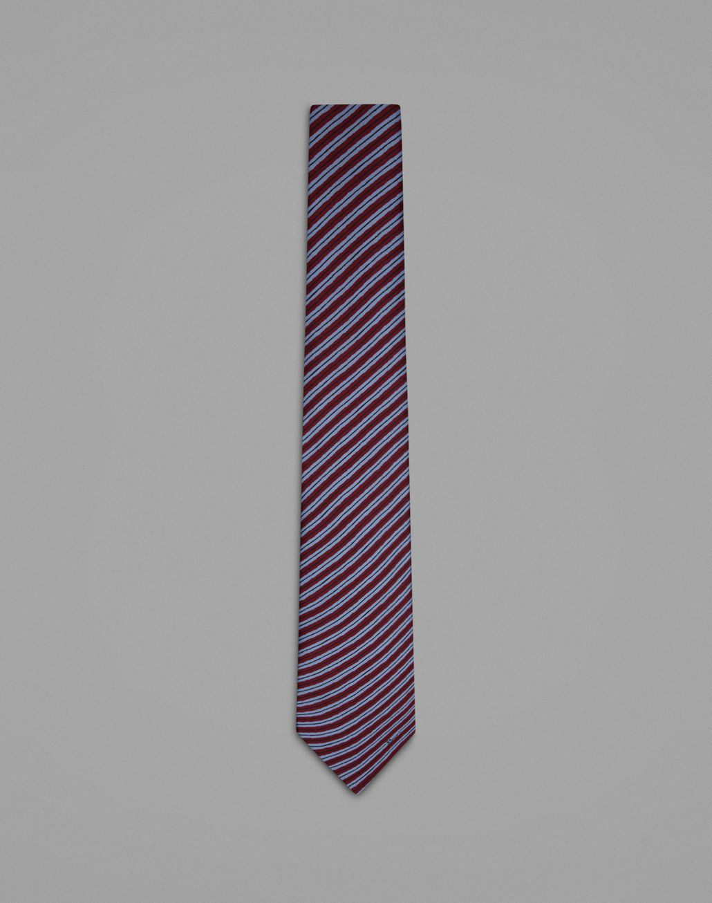 BRIONI Bordeaux Regimental Tie Tie Man f