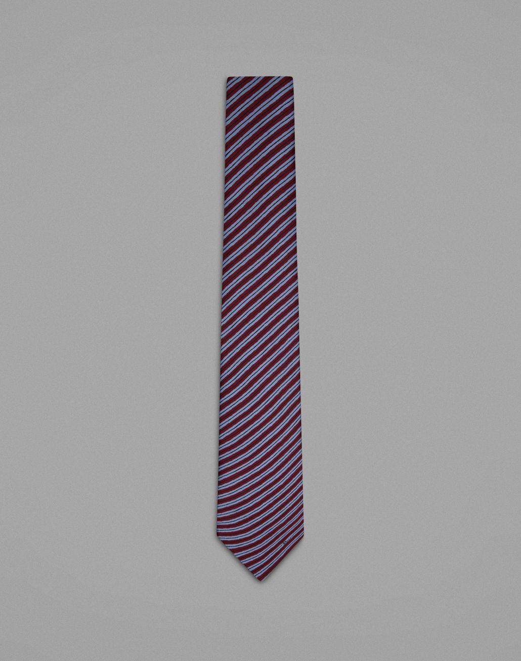 BRIONI Cravate régimentaire bordeaux Cravate Homme f
