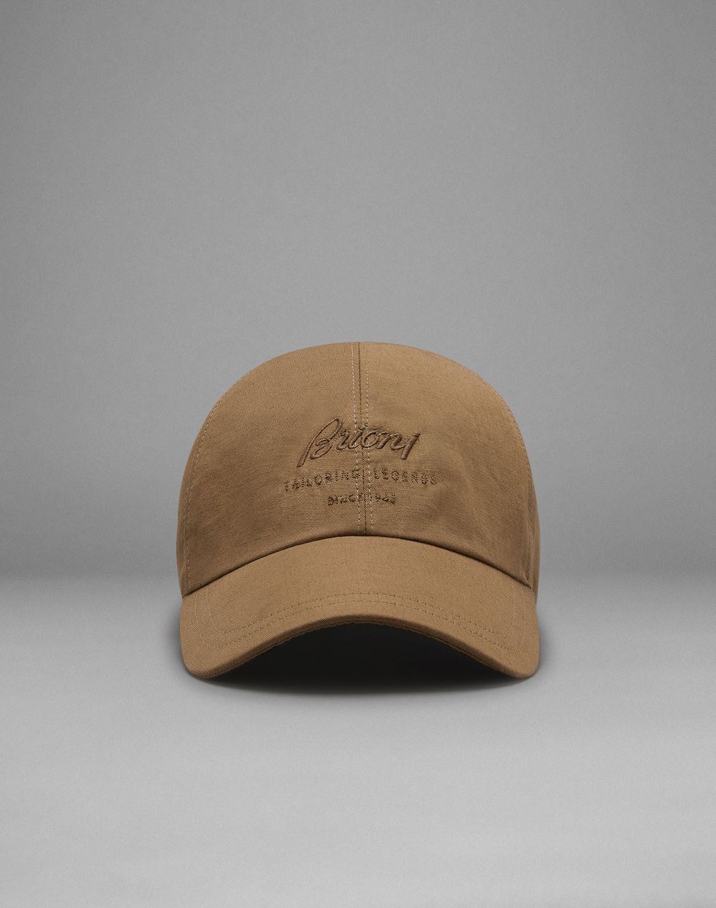 BRIONI Beige Baseball Cap Hat Man f