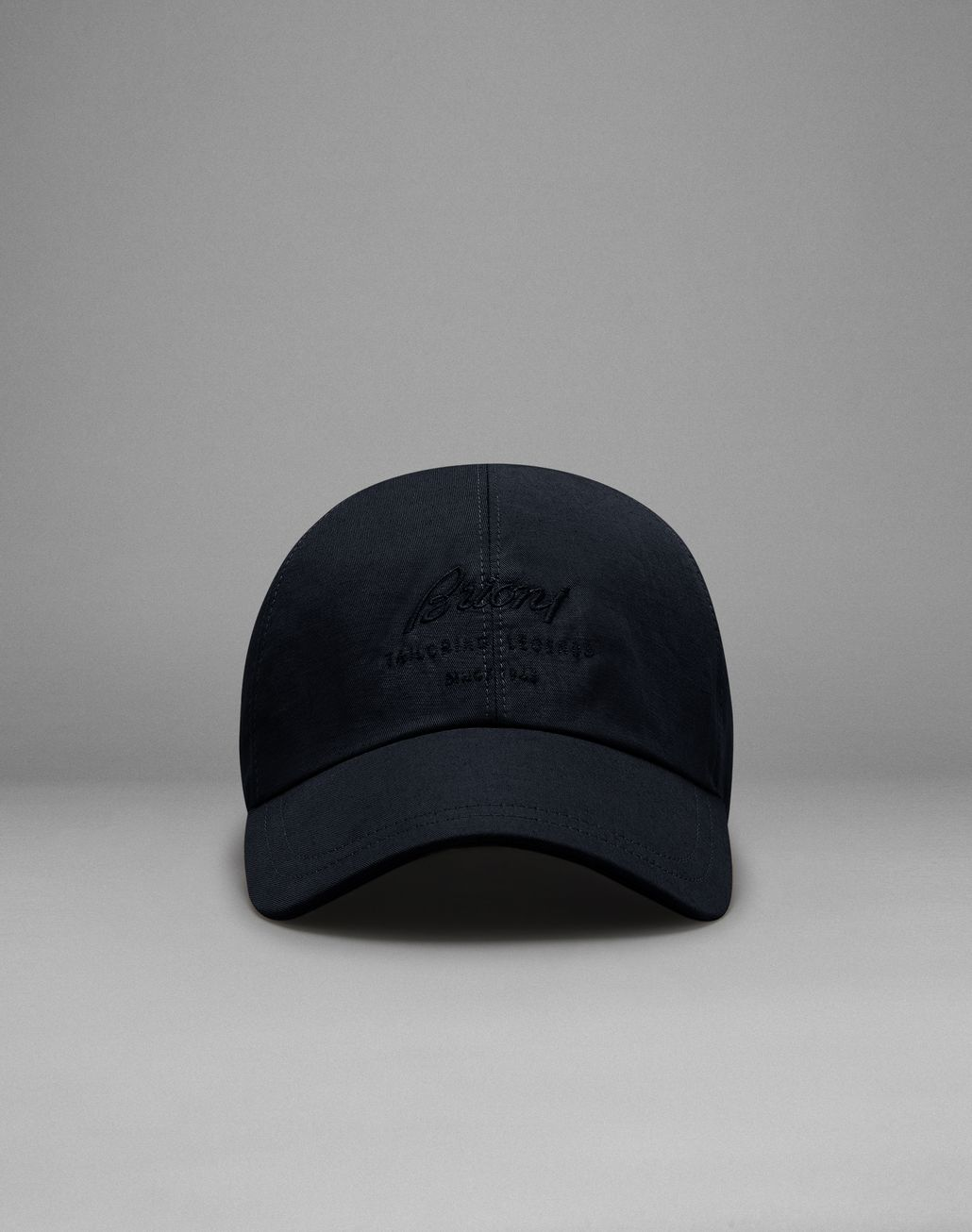 BRIONI Navy Blue Baseball Cap Hat Man f