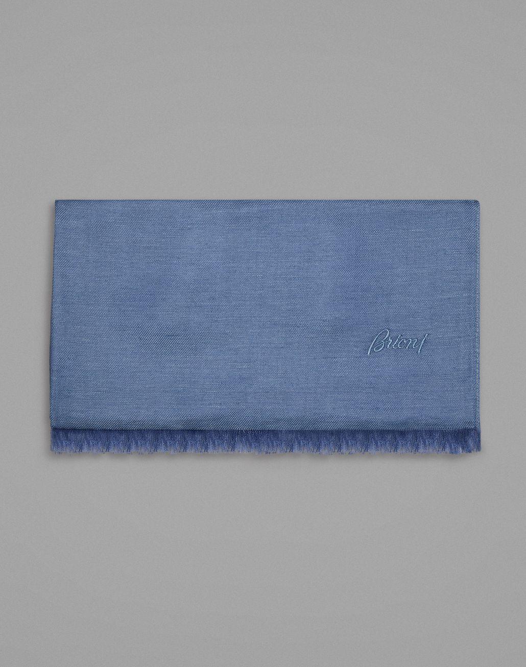 BRIONI スカーフ ブルー スカーフ メンズ f