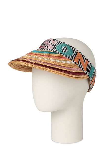 MISSONI MARE Beach Hat Beige Woman - Front
