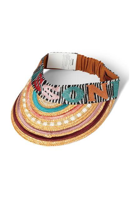MISSONI MARE Пляжная шляпа Бежевый Для Женщин - Обратная сторона