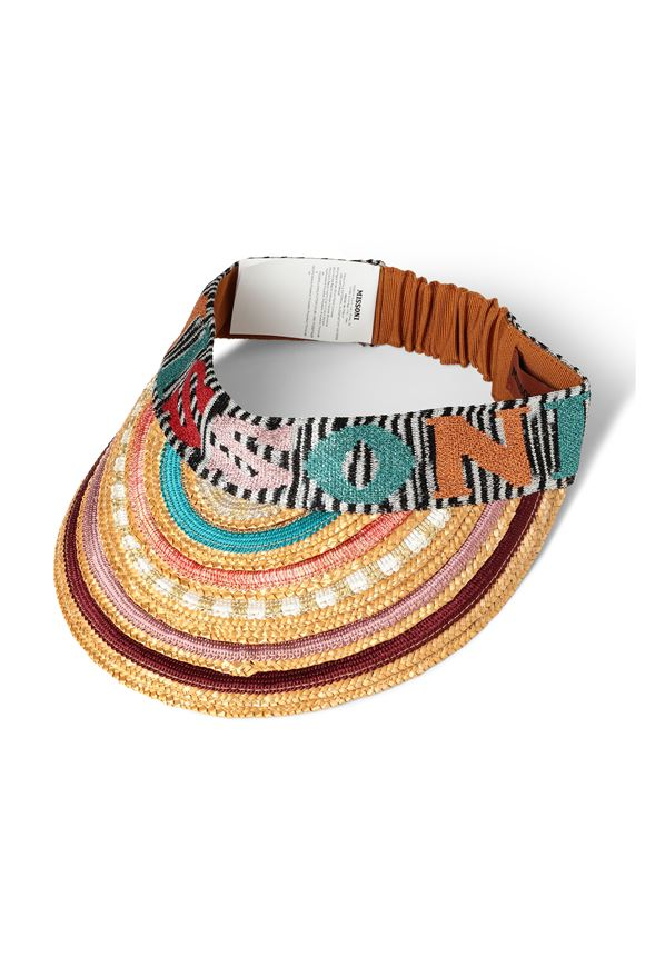 MISSONI Beach Hat Woman, Frontal view