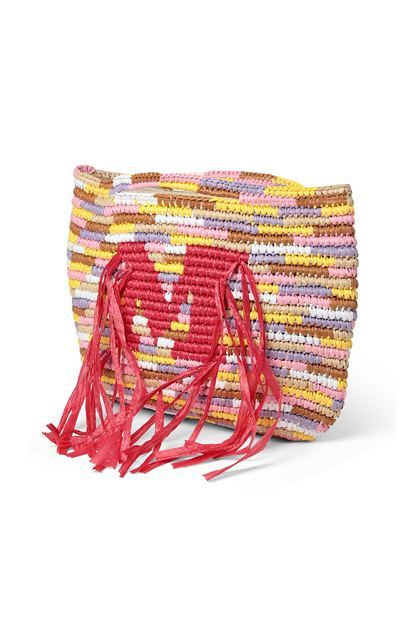 M MISSONI Shopping Bag Yellow Woman - Front