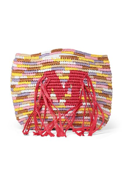M MISSONI Shopping Bag Yellow Woman - Back