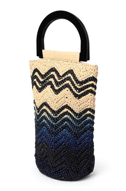M MISSONI Bags Blue Woman - Front