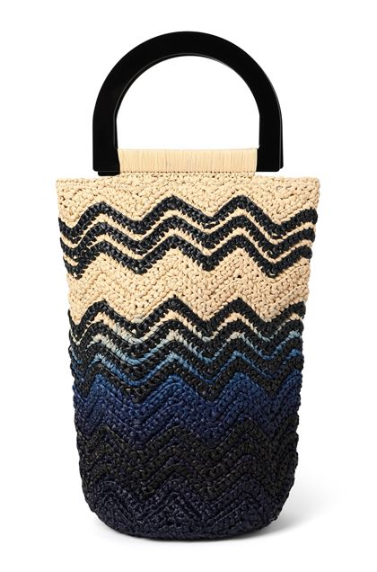 M MISSONI Bags Blue Woman - Back