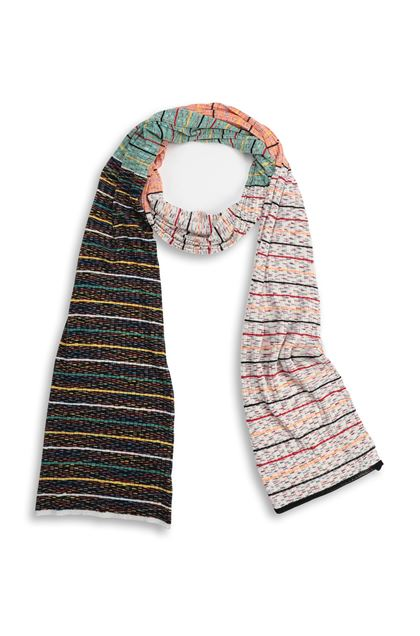 M MISSONI Scarf Ivory Woman - Back