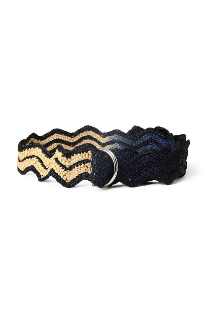 M MISSONI Belt Black Woman - Back
