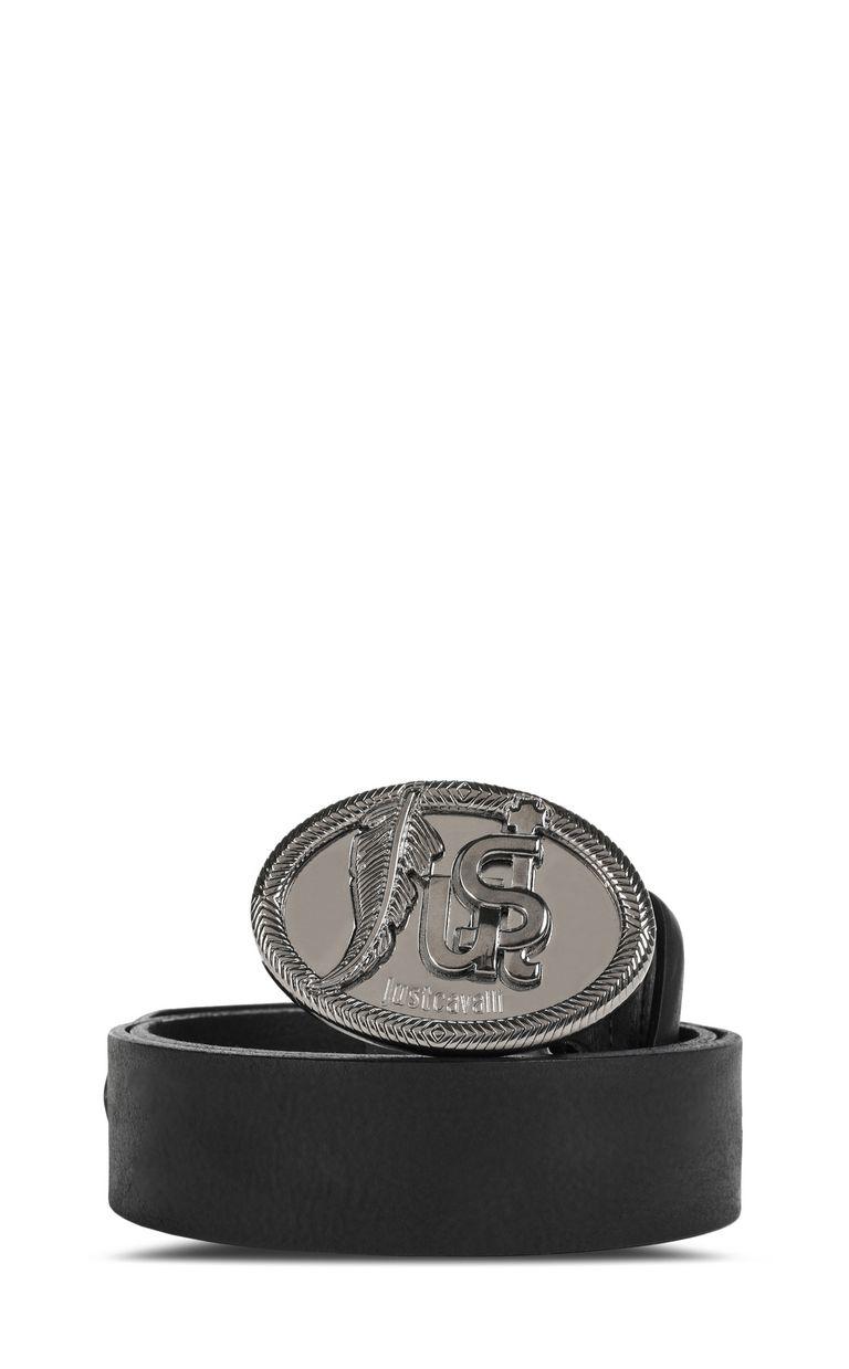 JUST CAVALLI Belt with logo Belt Man f