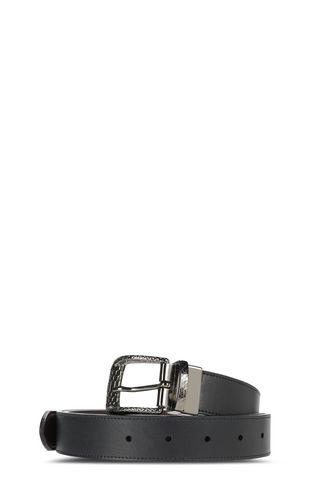 JUST CAVALLI Belt Man Shiny leather belt f