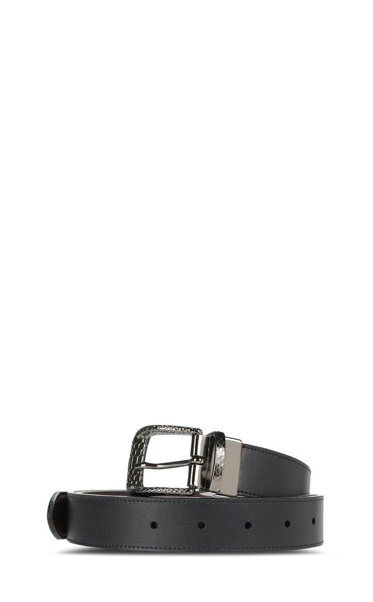 JUST CAVALLI Reversible leather belt Belt Man f
