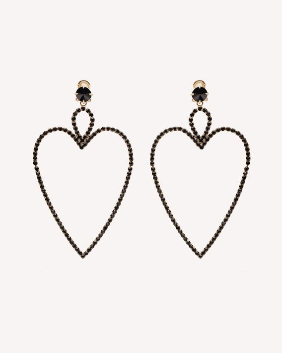 REDValentino BEATING HEART EARRINGS