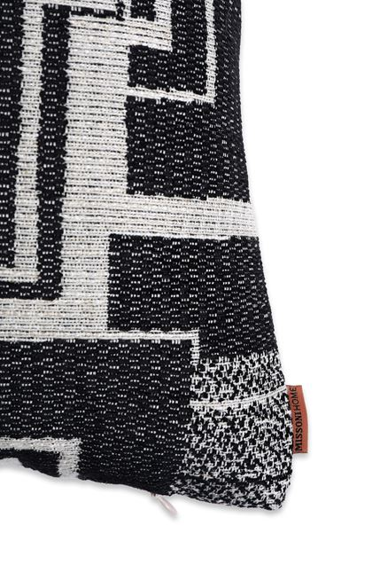 MISSONI HOME YOUGHAL CUSHION Black E - Front