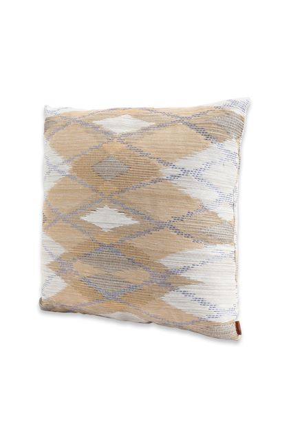 MISSONI HOME YASUJ CUSHION Light grey E - Back